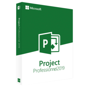 Microsoft Project Professionnel 2019